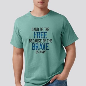 Land of the Free Mens Comfort Colors Shirt
