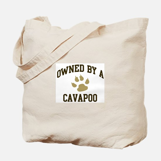 Cavapoo: Owned Tote Bag