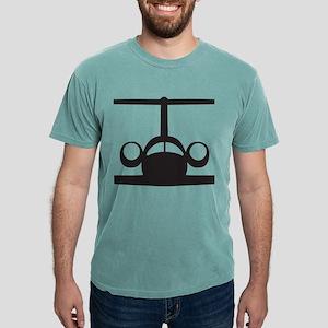 T-1 Black2 Mens Comfort Colors Shirt