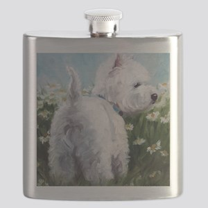 Picking Daisies Flask