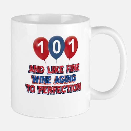 101st birthday designs Mug