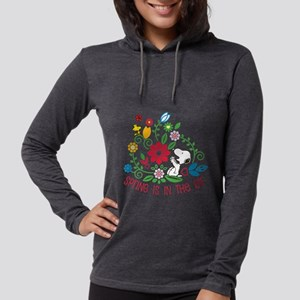 Snoopyu - Spring is in the Air Womens Hooded Shirt