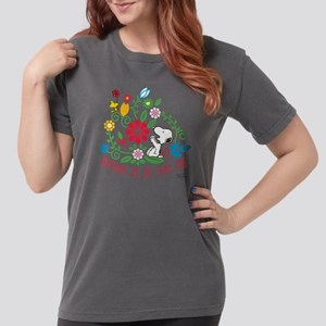 Snoopyu - Spring is in Womens Comfort Colors Shirt