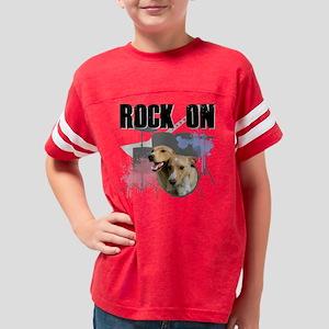 Shelter Pets Rock Pocket 2 Youth Football Shirt