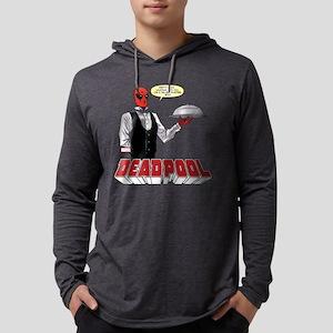 Deadpool Silver Platter Mens Hooded Shirt