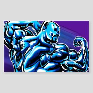 Bodybuilding Universe Sticker (Rect.)