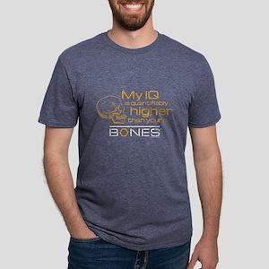 Bones IQ Dark Mens Tri-blend T-Shirt