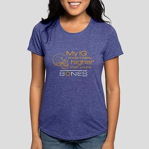 Bones IQ Dark Womens Tri-blend T-Shirt
