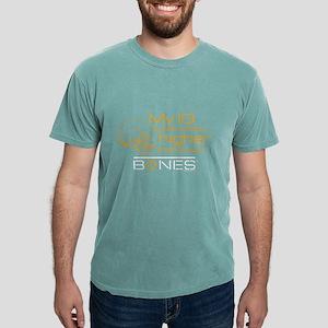 Bones IQ Dark Mens Comfort Colors Shirt