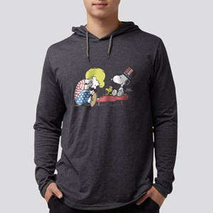 Snoopy - Vintage Schroeder Mens Hooded Shirt