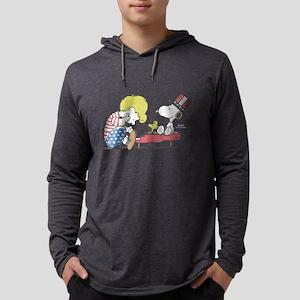 Snoopy - Vintage Schroeder Mens Hooded Shirt