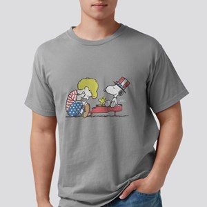 Snoopy - Vintage Schroed Mens Comfort Colors Shirt