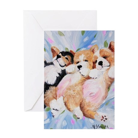 Bellies Up Greeting Card