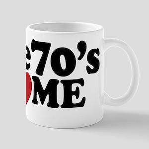 The 70's Love Me Mug