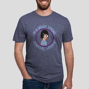 Bob's Burgers Tina Sens Mens Tri-blend T-Shirt