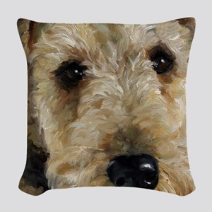 Best Friend Woven Throw Pillow