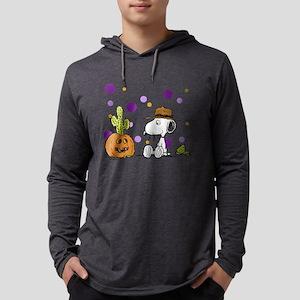 Spike pumpkin cactus2 Mens Hooded Shirt
