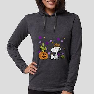 Spike pumpkin cactus2 Womens Hooded Shirt