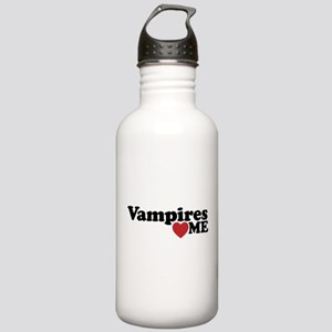 Vampires Love Me Water Bottle