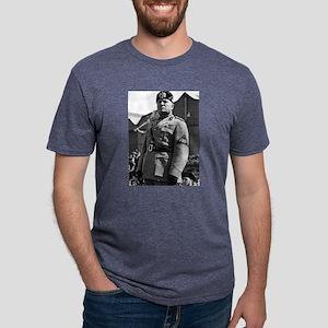 benito mussolini Mens Tri-blend T-Shirt