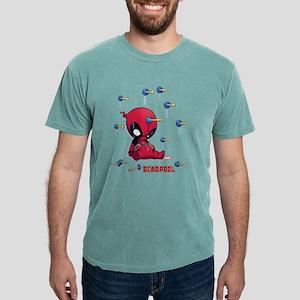 Deadpool Toy Darts Mens Comfort Colors Shirt