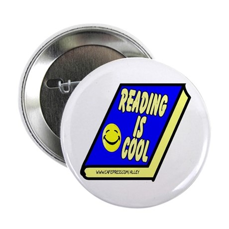 """Reading is Cool 2.25"""" Button (10 pack)"""