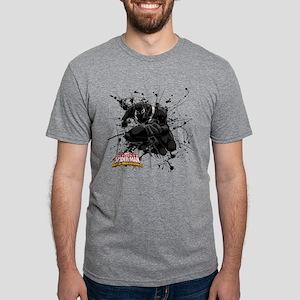 Agent Venom Web Mens Tri-blend T-Shirt