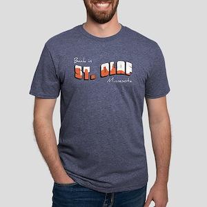 Back in St. Olaf Mens Tri-blend T-Shirt