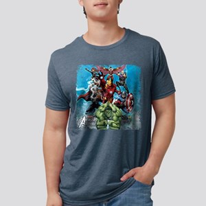 The Avengers Mens Tri-blend T-Shirt