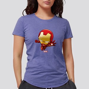 Chibi Iron Man 2 Womens Tri-blend T-Shirt