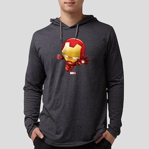 Chibi Iron Man 2 Mens Hooded Shirt