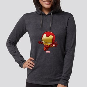 Chibi Iron Man 2 Womens Hooded Shirt