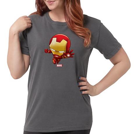 - CafePress Chibi Iron Man 2 Womens Comfort Colors Shirt Womens T