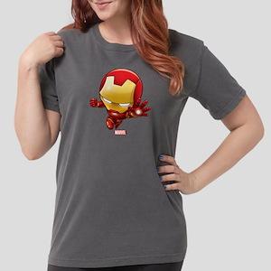 Chibi Iron Man 2 Womens Comfort Colors Shirt