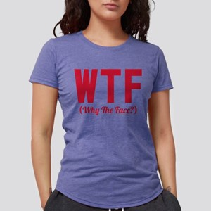 Modern Family WTF Why the Womens Tri-blend T-Shirt