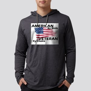 American By Birth Mens Hooded Shirt