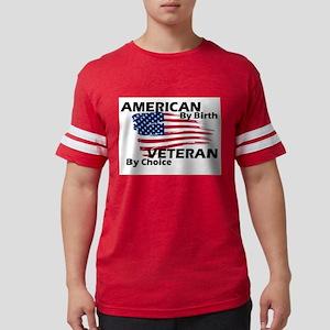 American By Birth Mens Football Shirt