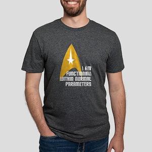 Star Trek - Normal Paramete Mens Tri-blend T-Shirt