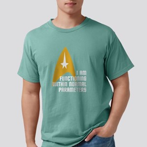 Star Trek - Normal Param Mens Comfort Colors Shirt
