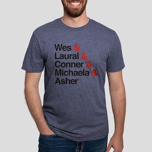 HTGAWM Character Names Mens Tri-blend T-Shirt