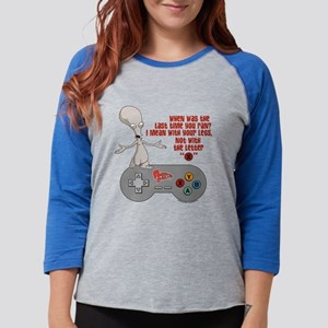 American Dad Letter X Light Womens Baseball Tee