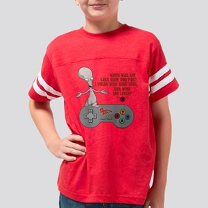American Dad Letter X Light Youth Football Shirt