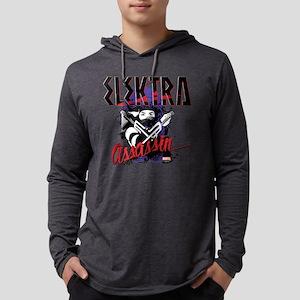 Elektra Assassin Mens Hooded Shirt