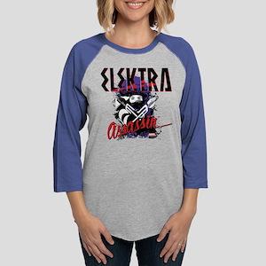Elektra Assassin Womens Baseball Tee