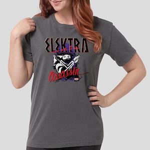 Elektra Assassin Womens Comfort Colors Shirt