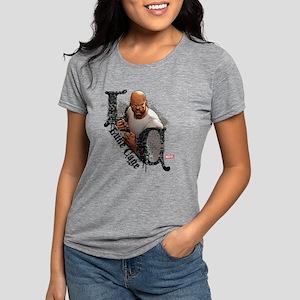 Luke Cage Initials Womens Tri-blend T-Shirt