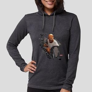 Luke Cage Initials Womens Hooded Shirt