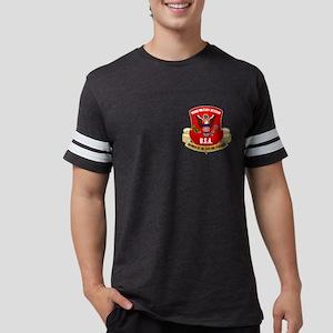 Proud Military Veteran Mens Football Shirt