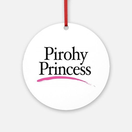 Pirohy Princess Ornament (Round)
