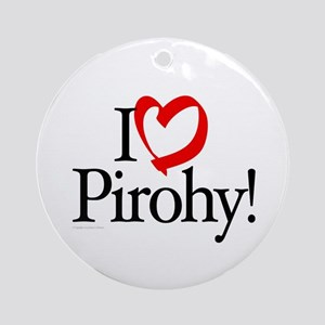 Pirohy Lovers Ornament (Round)